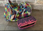 Satch Sporttasche und Federmäppchen- gebraucht