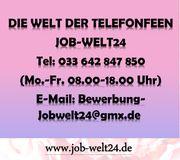 Telefonistin Heimarbeit Job - Verdienst bis
