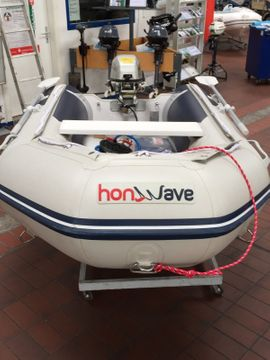 Motorboote - Honda Honwave mit Honda BF5
