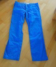hellblaue Stoffhose von Esprit Größe