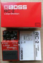 Boss Loop Station Rc-2 Looper