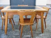 Tisch mit 4 Stühle Kirschholz