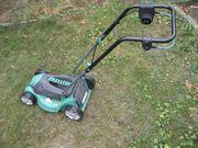 elektrischer Rasenmäher ohne Fangkorb Gardenline