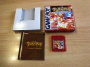 Nintendo Gameboy Pokemon Rote Edition