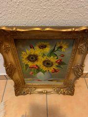 Bild Sonnenblumen Ölgemälde