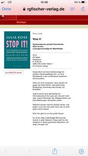 Buch politisch Stop It von