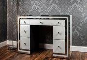 NEW White mirrored 7 drawer