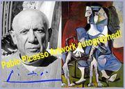 PABLO PICASSO Kunstwerk Blickfang Collage