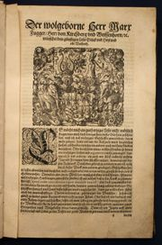 Fugger Von der Gestüterey 1584