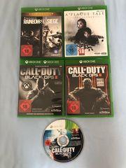 Verkaufe Xbox One Spiele