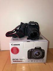 Canon EOS 700D EF-S 18-55
