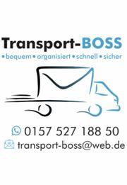 Transporter mit Helfer Möbeltransport Kurier