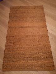 Teppichläufer aus Hanf
