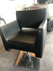 schwarze Friseur Stuhl gratis