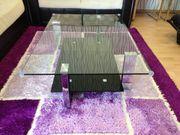 Design Couchtisch Glastisch Wohnzimmertisch 118x78cm