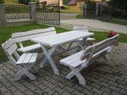 Gartensitzgruppe Garnitur Sitzgruppe TIROL-RETRO NEU