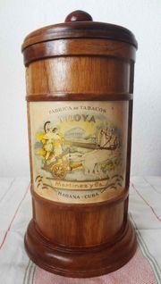 Zigarren Jar Holz Zedernholz Troya
