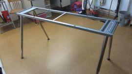 Büromöbel - Stabiles Schreibtisch-Untergestell aus Metall IKEA