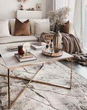 Westwing Aruba Couchtisch Tisch Marmor