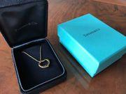 Tiffany Herz mit Kettchen Gold
