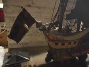 Altes Holzschiff zur Restauration
