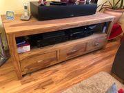 TV-Board aus Sheesham Holz 150