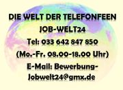 Telefonistin Job Homeoffice Heimarbeit Schreibarbeit