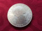 50 Schilling Münze 1891 ING