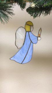 Weihnachtsengel aus Tiffanyglas