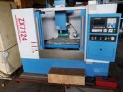 CNC Fräsmaschine ZX7124F Tisch 900x230mm