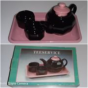 kleines Porzellan Teeservice Tee Set