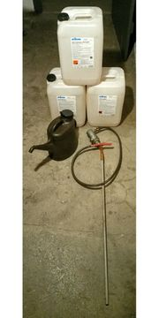 Pumpe - 3 Kanister - 10l Kanne