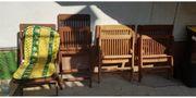 Gartenstühle 4 Stück FSC Holz