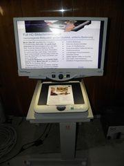 Bildschirmlesegerät mit Tisch