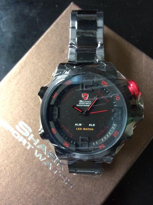 Herren Shark Sport Watch originalverp