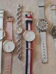 Große Sammlung an verschiedensten Uhren