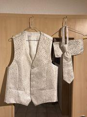Hochzeitsweste von Digel mit Krawatte
