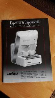 Kapsel Kaffeemaschine von Lavazza