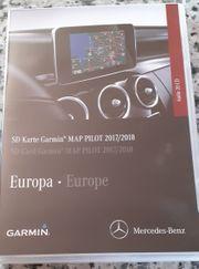 Mercedes-Navigation Garmin Map Pilot SD-Karte