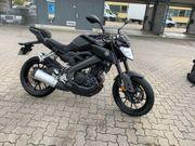 Yamaha MT 125 in schwarz