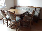 Eßzimmermöbel Eiche rustikal teilweise massiv
