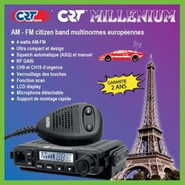 CB, Amateurfunk - CRT Millenium CB-Funkgerät quasi der
