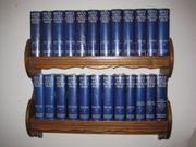 Brockhaus Enzyklopädie 24 Bände Lederrücken