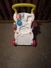 Lernlaufwagen zu verschenken