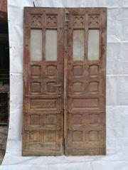 Antikes Portal Haus Eingangs Tor