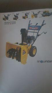 Santos Schneefräse 13S 656 5