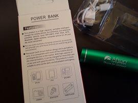 Ladekabel - Neue Power Bank wie abgebildet