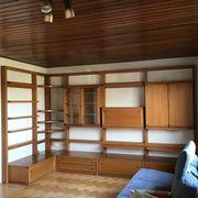 Wohnzimmerwand Teakholz variabel Musterring Möbel