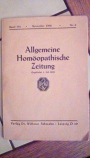 Homöopathische Zeitung v 11 1936