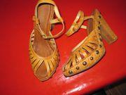 hohe Sandalen Größe 38 Absatzhöhe